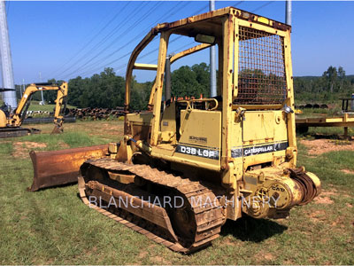 1987 CATERPILLAR D3B TRACK TYPE TRACTORS - Heavy Equipment for sale