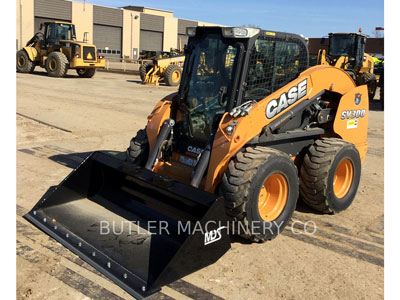2012 SKID STEER LOADERS CASE/NEW HOLLAND SV300