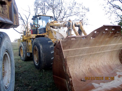 2012 WHEEL LOADERS/INTEGRATED TOOLCARRIERS CATERPILLAR 988H