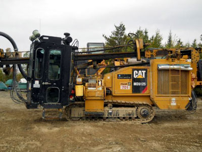2012 HYDRAULIC TRACK DRILLS CATERPILLAR MD5125