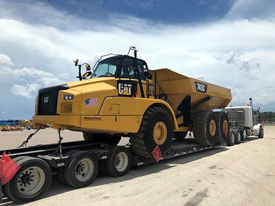 2015 Truck - Articulating CATERPILLAR 745C