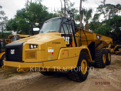 2019 ARTICULATED TRUCKS CATERPILLAR 725C2